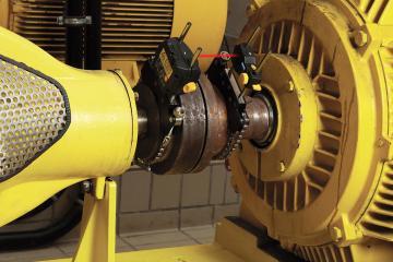Фотография оборудования для выравнивания по лазерному лучу Fluke